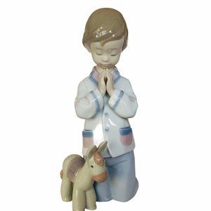Lladro Nao Figurine Bless Us All donkey Spain Mule
